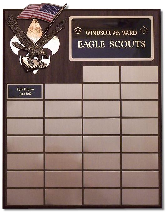Small Eagle Scout Plaque - Click Image to Close