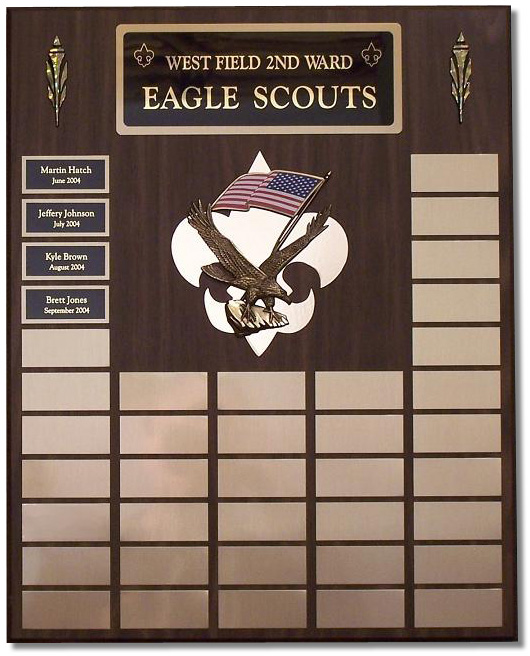 Medium Eagle Scout Plaque