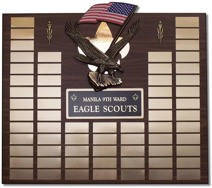 Large Eagle Scout Plaque